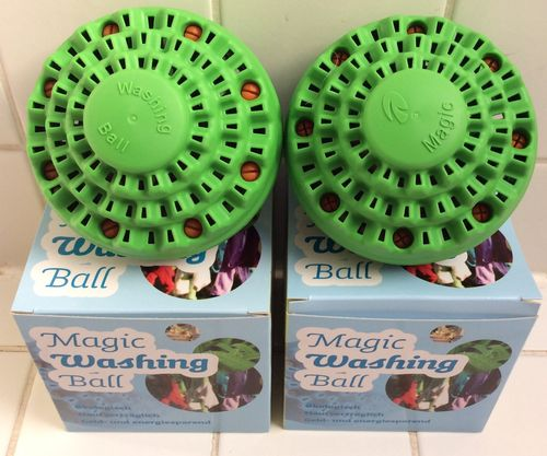 Magic Washing Ball im Doppelpack